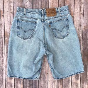 Men's vintage 550 Levi's shorts Orange Tab size 34